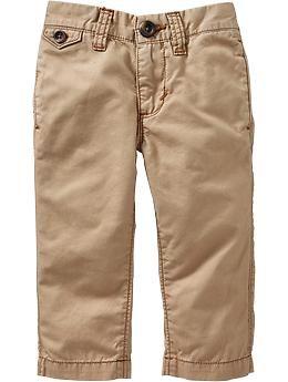 Skinny Khakis for Baby