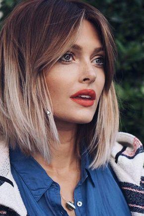 coupe et coiffure femme tendance 2018  cheveux en 2019