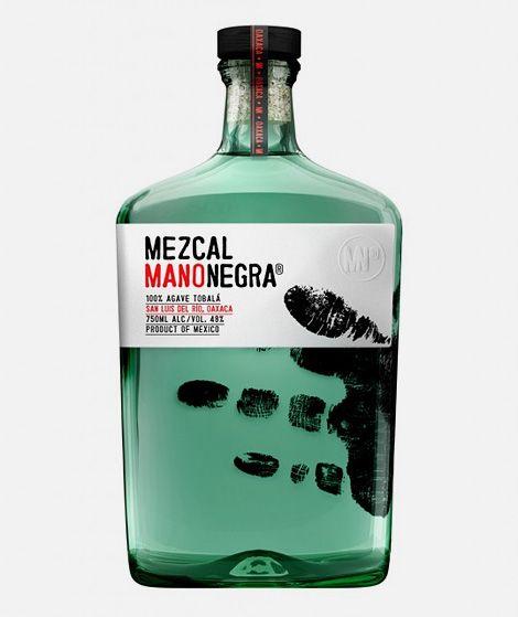 DesignbySociedad AnonimaforMezcal Manonegra.Mano Negra, Marca Negra, Hands Prints, Package Design, Mezcal Marca, Bottle Packaging, Packaging Design, Bottle Design, Mezcal Manonegra