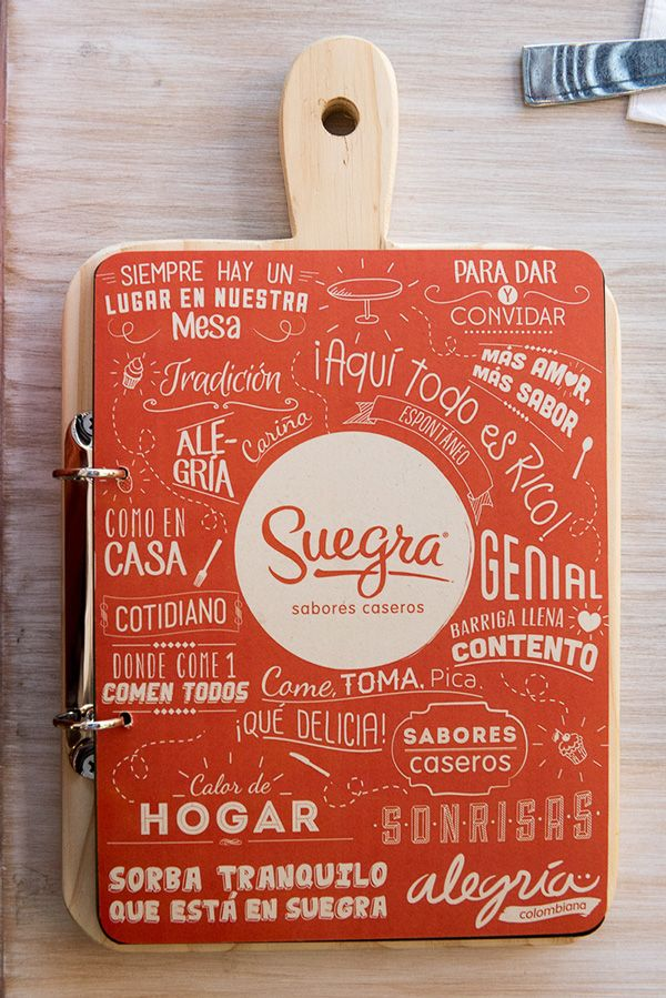 Menu Design Ideas ideas and examples to make to do a restaurant menu design and restaurant menus ideas Suegra Sabores Caseros Creative Resturant Menu Design
