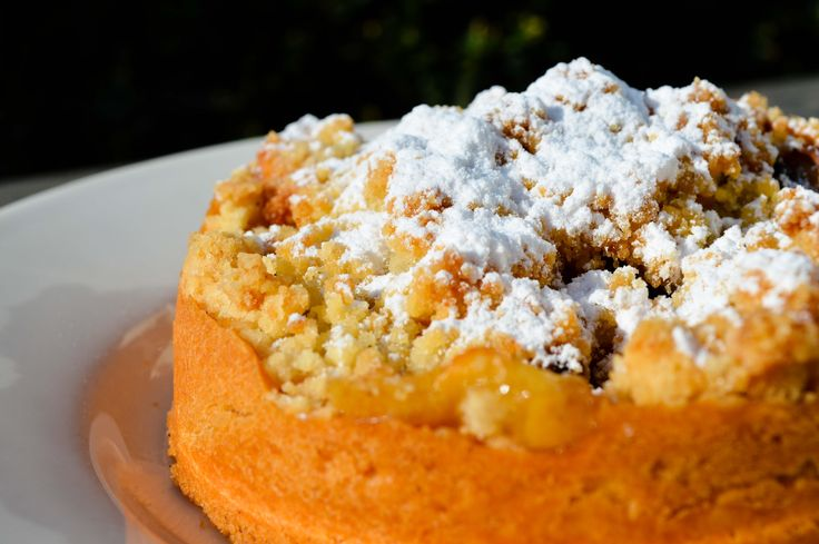 Onze smakelijke #appel #kruimel van #laplace
