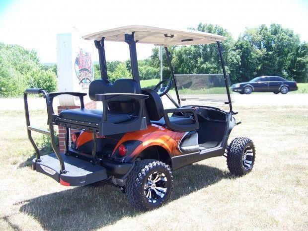 2011 Yamaha G29 Gas Long Travel   Jakes Golf Carts