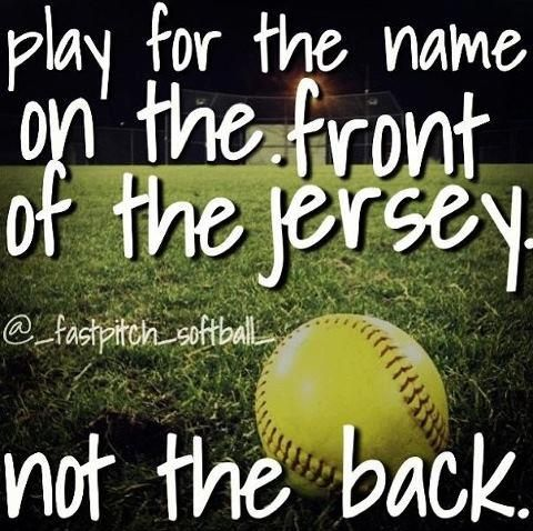 baseball and softball dating quotes | Latrobe Fastpitch Softball shared Softball Quotes/Pics 's photo .