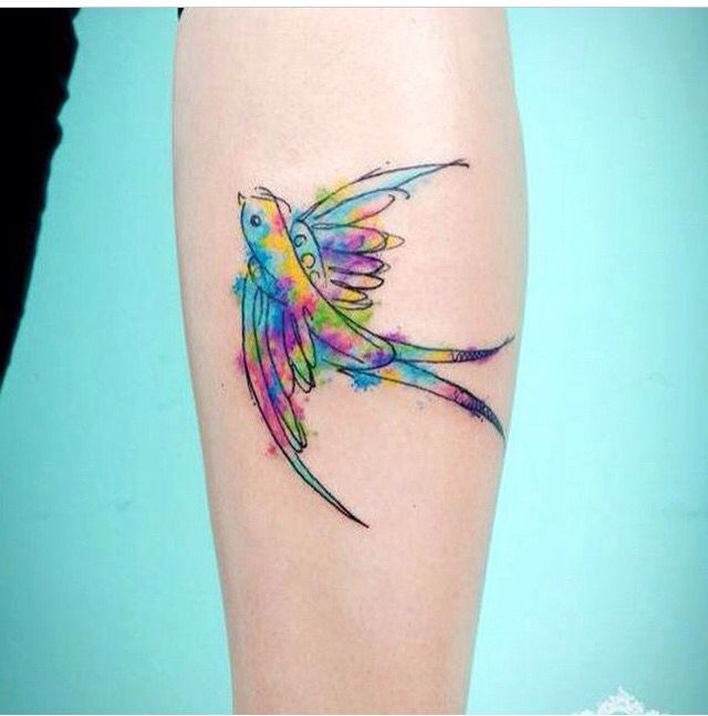 I want a water color style tattoo!