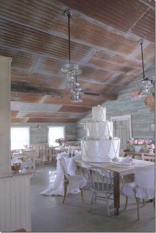 rusted barn tin ceiling - photo #23