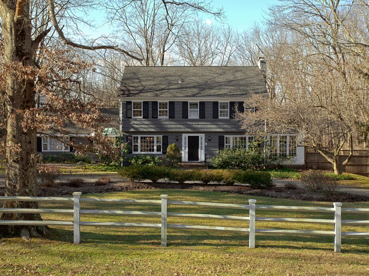 17 best images about house exterior on pinterest ranch house remodel home renovation and for Updated colonial home exterior