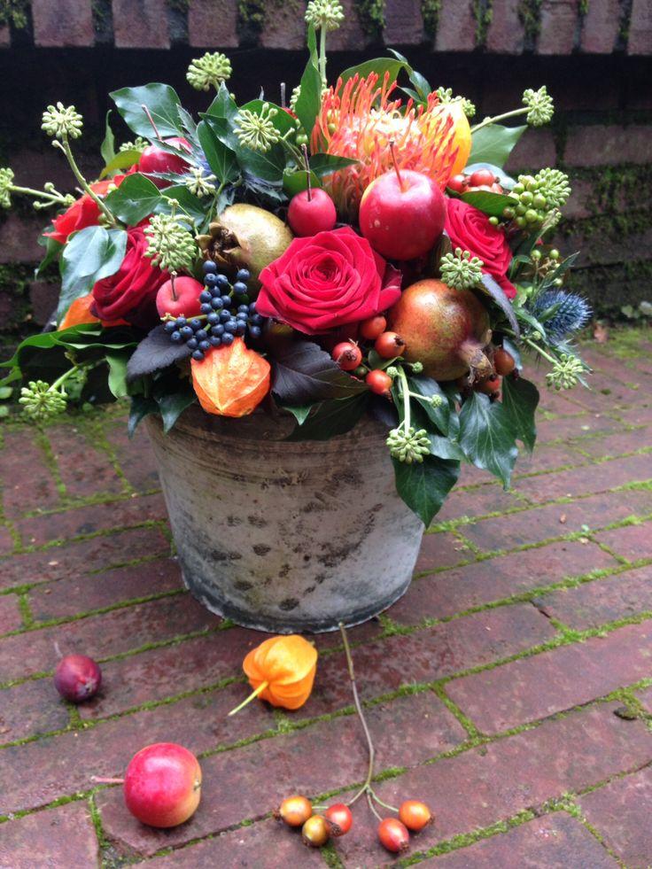 #Herfstbloemstuk #BLOM BLoemwerk Op Maat #Wageningen #Bennekom: