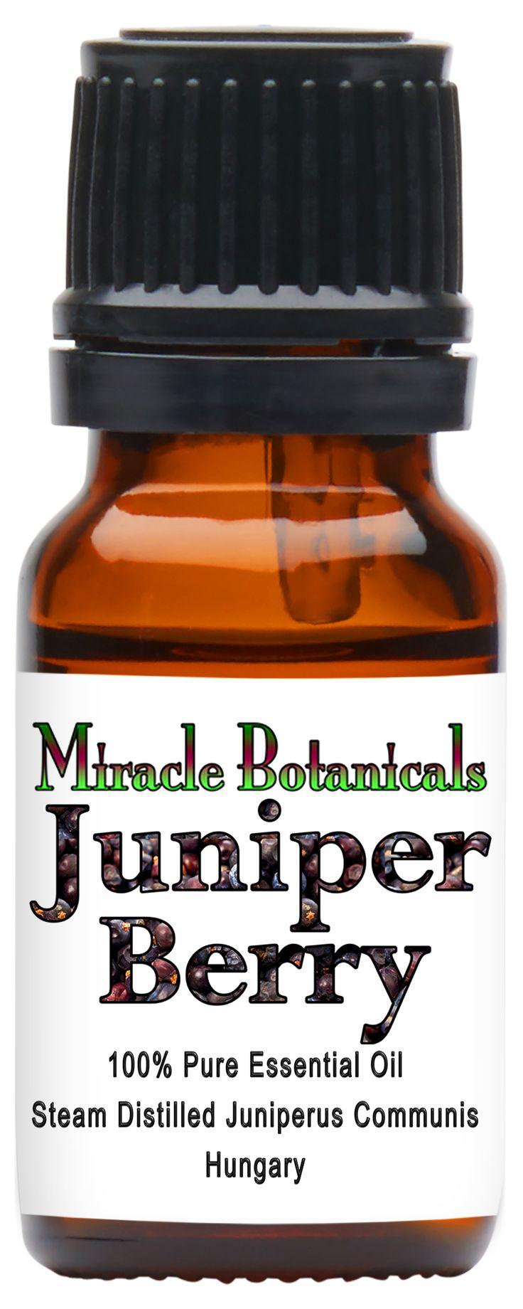 how to make juniper oil