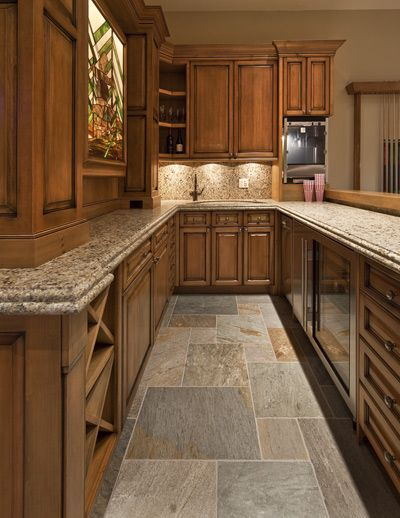 36 Best Stone Flooring Images On Pinterest  Stone Flooring Alluring Stone Floor Kitchen Inspiration