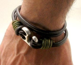 The perfect bracelet for that special guy in your life.  Buy it exclusively at Intergalactic Bead Shows.
