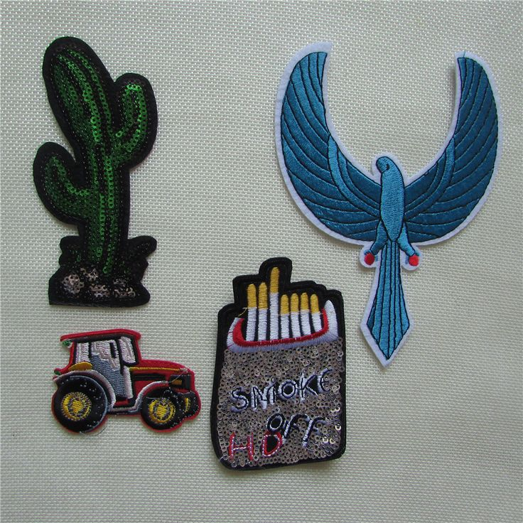 6 kind different style hot melt adhesive applique embroidery patch DIY clothing accessory patches stripes 1pcs sell C2110-C2230