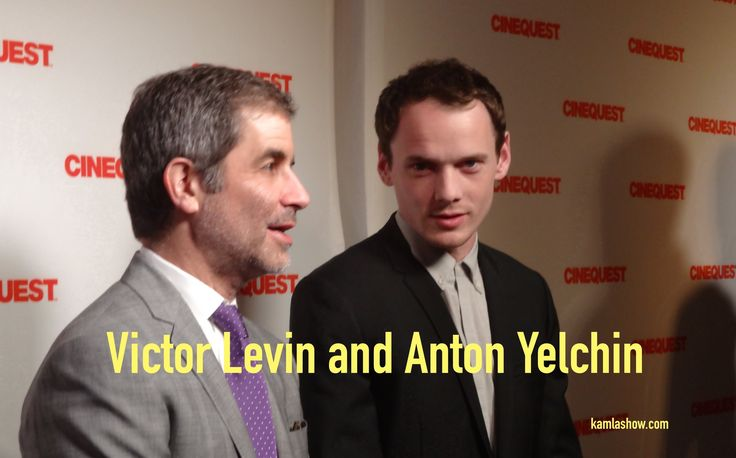 """Anton Yelchin Speaks Russian And Victor Levin on """"5 to 7"""""""