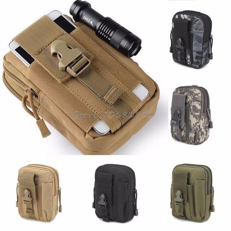 Waist Tactical Molle Belt Bag Hip Military Pouch Phone Holster Outdoor Wallet  #WaistTactical #BeltBag