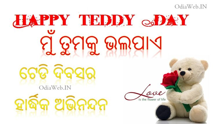 Download oriya sms and shayari in oriya language for teddy day and valentines day and send to your near and dear. Odia Teddy Day Sms - Oriya teddy day shayari