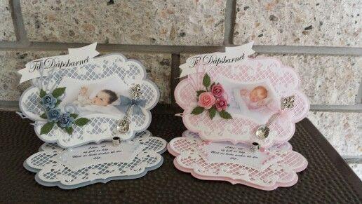 Et par dåpskort