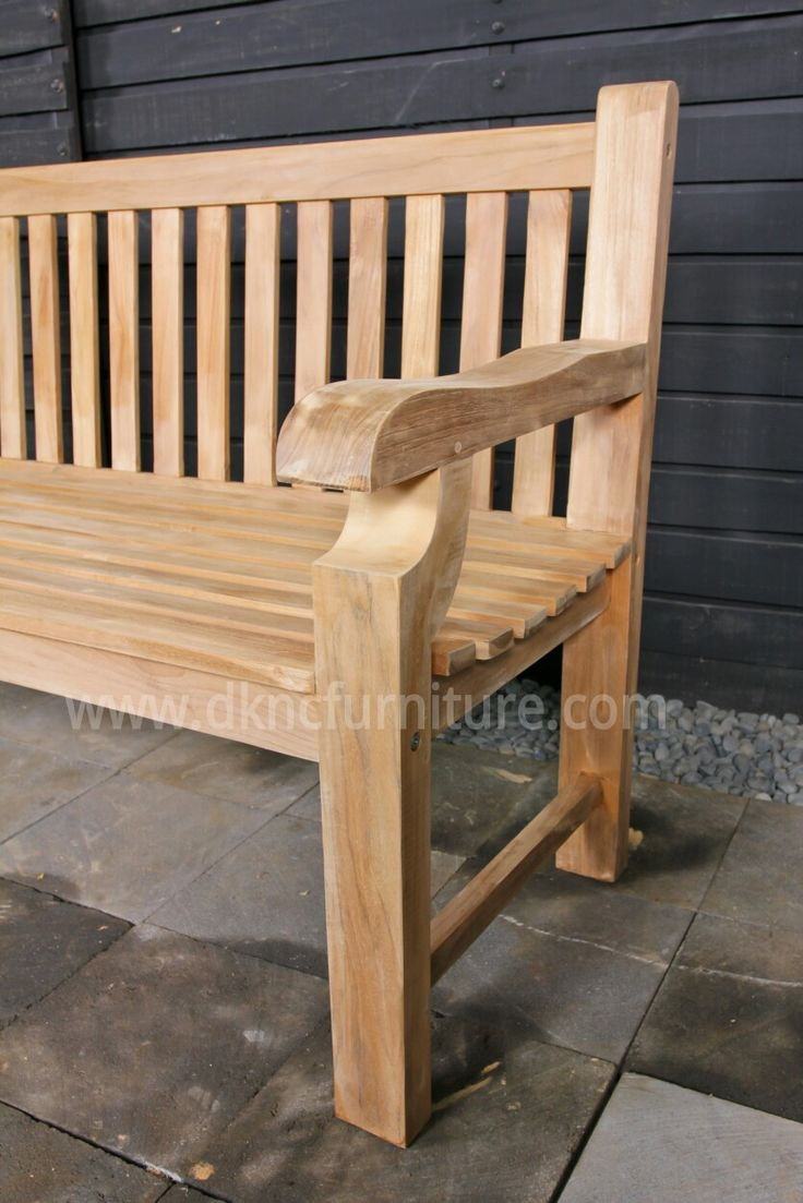 best  teak garden furniture ideas on pinterest  asian outdoor  - teak garden furniture chunky bench more info email kranjiindonet