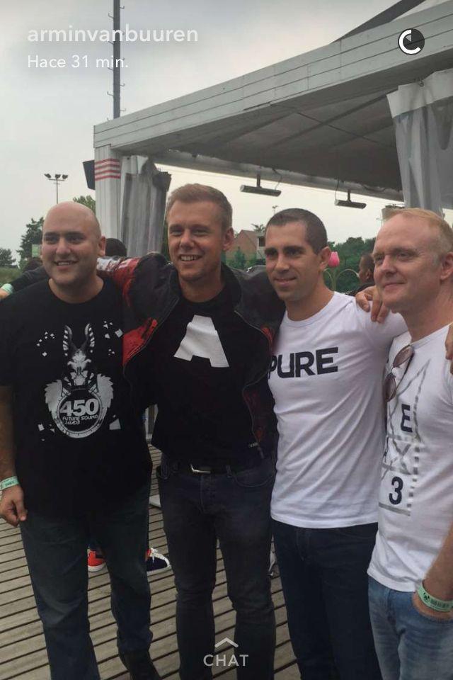 Armin van Buuren with Aly & Fila, Guiseppe Ottaviani and Solarstone