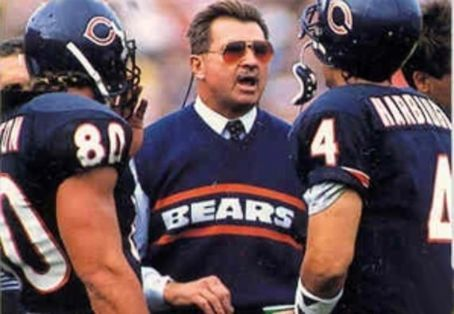 """You're never a loser until you quit trying.""  ~Mike Ditka"