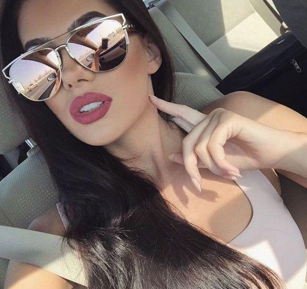 womens mirrored aviator sunglasses  17 Best ideas about Aviators Women on Pinterest