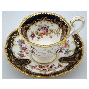 antique tea cups | Antique English Tea Cup and Saucer (item #630717)