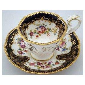 antique tea cups   Antique English Tea Cup and Saucer (item #630717)
