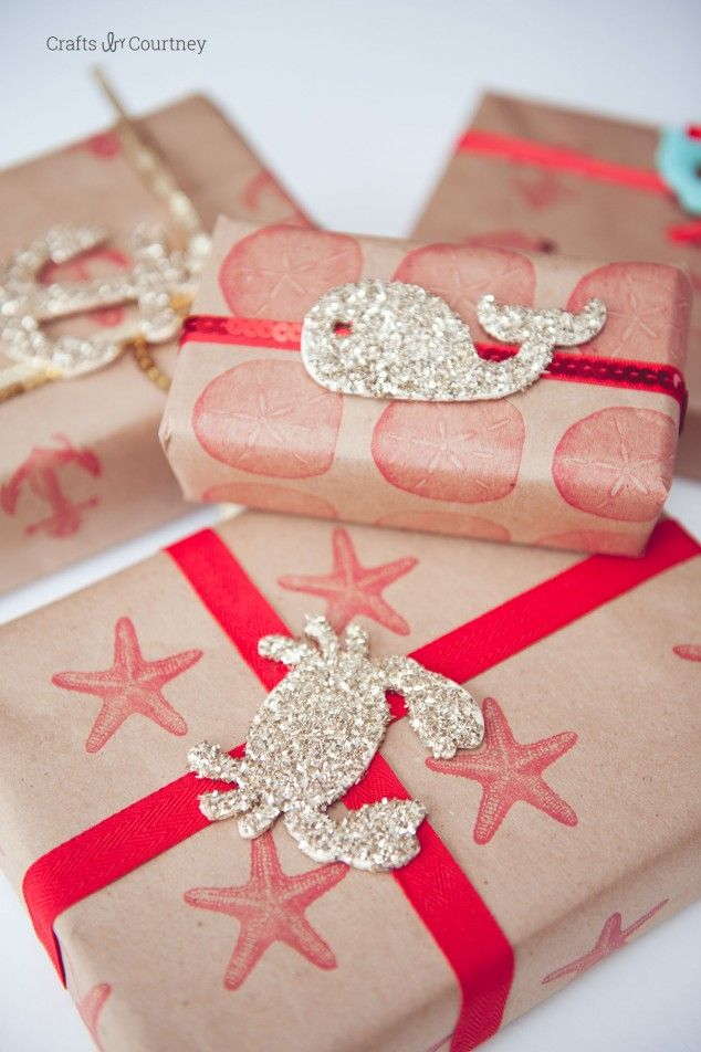 Create DIY wrapping paper to match any