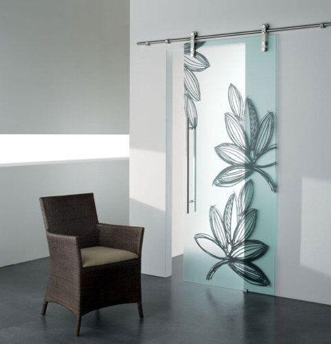 Glazen schuifdeur Boris. Stoer, chique en stijlvol. Passend bij ieder interieur. Vanaf € 490,00 via Glazz.nl.