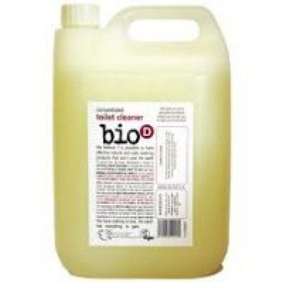 Bio D Toilet Cleaner 5 Litre made in Tyne and Wear and supplied by Green Stationery Co in Somerset - £19.08