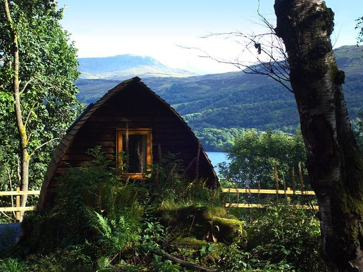 Weekend Trip Wigwams Scotland - Loch Tay Highland Lodges - Perthshire