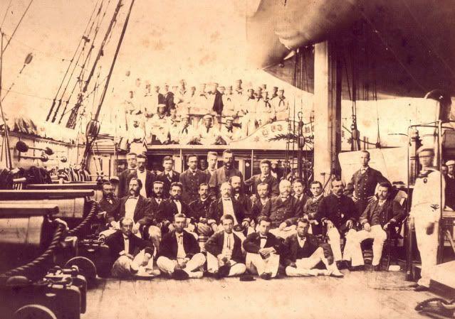 Perwira-perwira Marine Belanda – 1874
