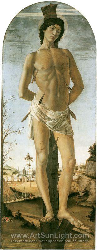 Sandro Botticelli Saint Sebastian