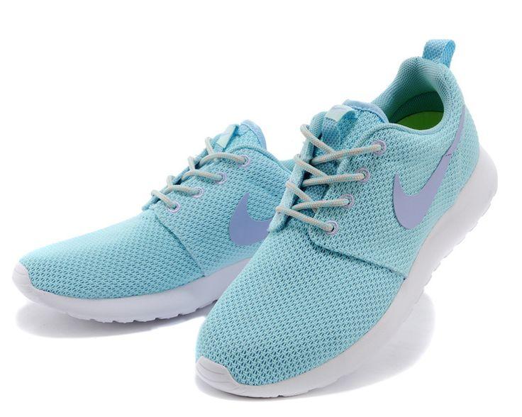 Nike Roshe Run Femme Chaussure bleu pourpre prix spécial