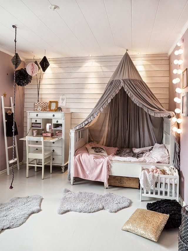 25 best ideas about girl rooms on pinterest girl room little girls room decorating ideas - A nice bed and cover for teenage girls or room ...