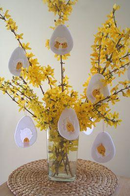Közeledik a húsvét, úgyhogy rákapcsoltunk a húsvéti dekorációk gyártására :-) A következő ötletet az inspirálta, hogy a Nagyobbik a minap m...
