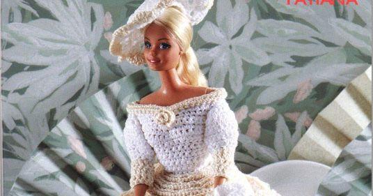 Aujourd'hui je vous propose un autre modèle pour Barbie. Il s'agit du modèle Tatiana que j'ai trouvé aussi sur le net :        Je le trouve ...