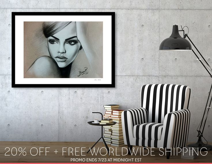 Discover «Fashion girl», Exclusive Edition Fine Art Print by Bianca  Paraschiv Art - From $25 - Curioos