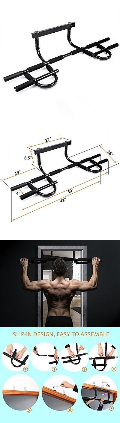 Pull Up Bars 179816: Sportneer Chin Up Bar Multi-Grip Pull Up Bar Doorway Trainer Home Gym Holder Aid -> BUY IT NOW ONLY: $38.02 on eBay!
