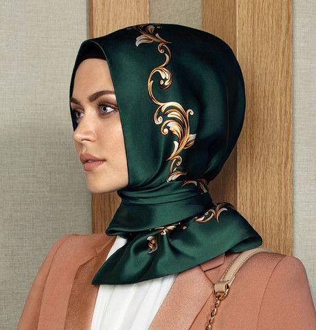 Armine Silk Hijab Scarf Spring Summer 2015 #6773 – Modefa USA