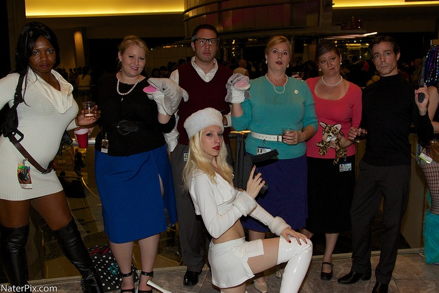 DragonCon 2012 - Archer characters Lana Kane, Pam Poovey(s ...