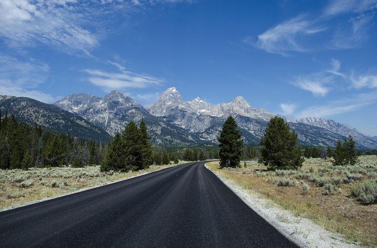 Asphalte, Autoroute, Montagne, Activités De Plein Air