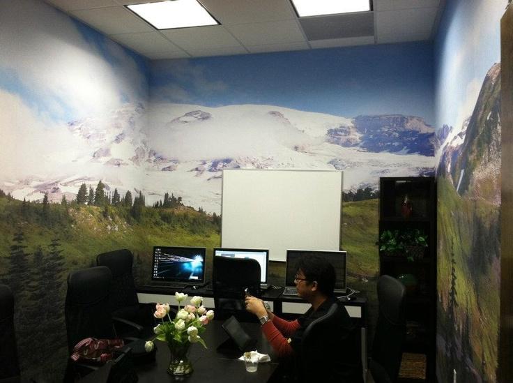 Mountain murals from boostgfx.com