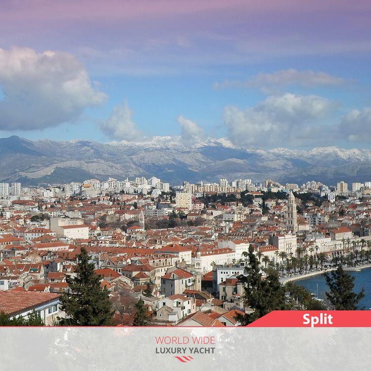 #Split is the second largest city of #Croatia and the largest city of the region of #Dalmatia.