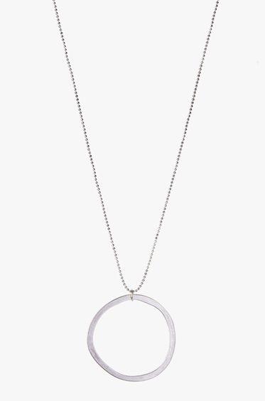 Ellen Beekmans Cirkel Ketting - Zilver