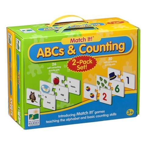 Learning Journey Abc's And Counting Twin Pack | Kmart