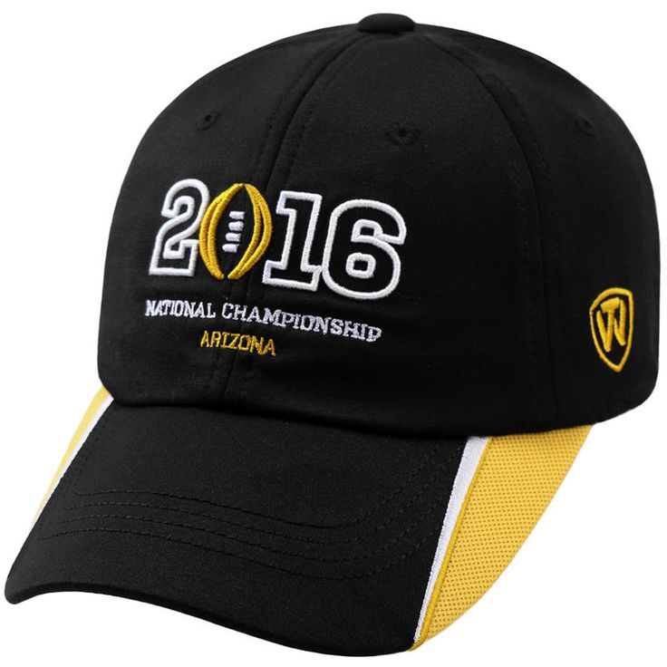 2016 College Football Playoff National Championship Game Top of the World Adjustable Hat - Black