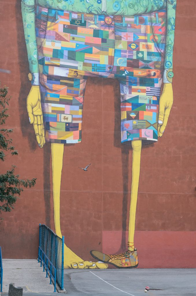 Artist: Os Gemeos in Manhattan