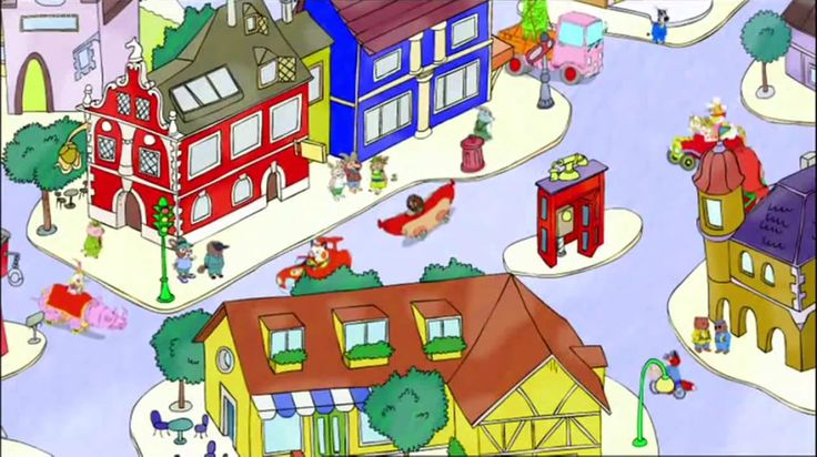 Busytown Mysteries (Hurray for Huckle) Opening Theme