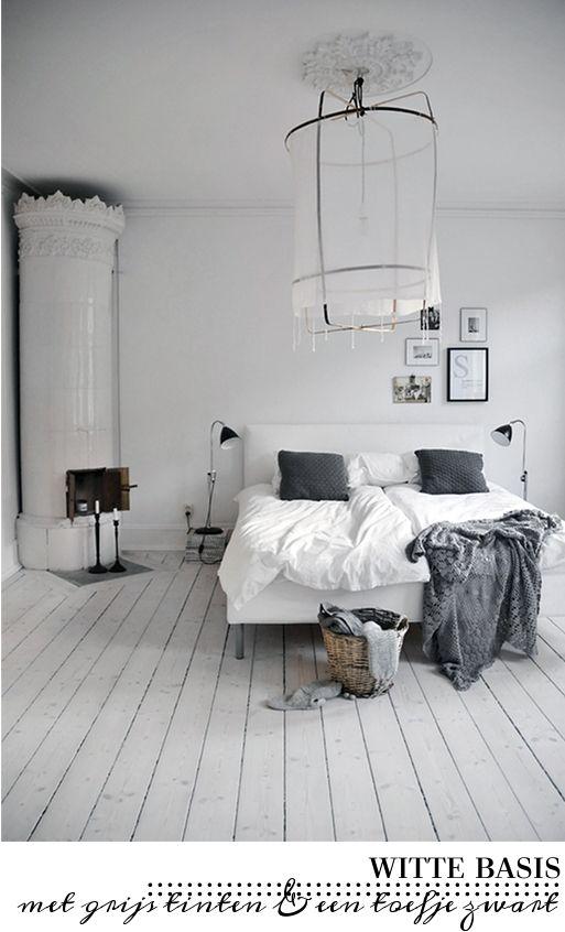 Witte vloer <3
