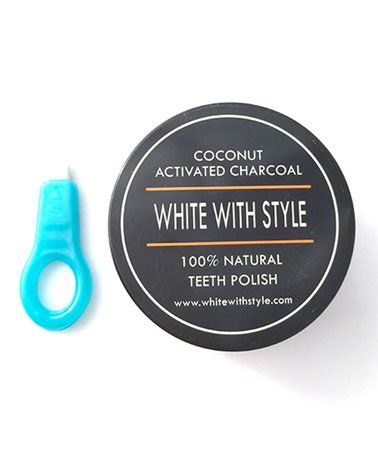 This Coconut Activated Charcoal Whitener & Polisher & Magic Wand is perfect! #zulilyfinds