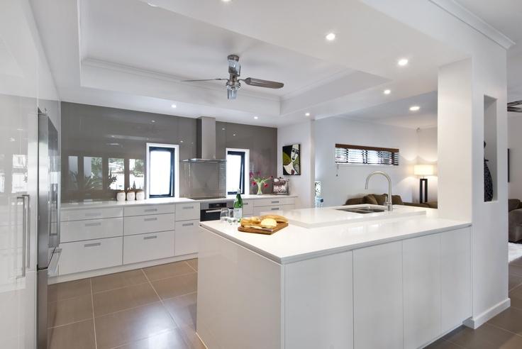 Interiors by Darren James, CaesarStone Classico 4600 Organic White